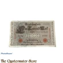 Reichsbanknote Eintausend Mark 1910
