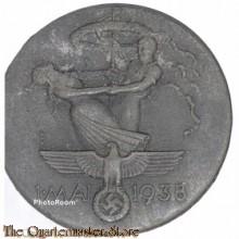 Spende Abzeichen 1 Mai 1938 (Tinnie 1 Mai 1938)