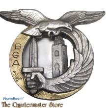 France - Insigne Armée de l'Air / Aviation  Bataillon de garde de l'air 3/541 - Alger