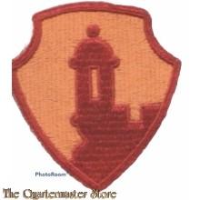 Mouwembleem Antilles Department (Sleeve patch Antilles Department)