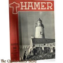 Maandblad de Hamer 4e jrg  no 6,  maart  1944