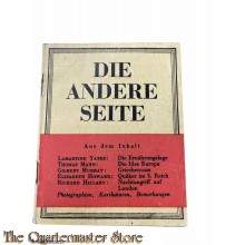 Flugblatt / Booklet G.47, DIE ANDERE SEITE (The Other Side, No. 1)