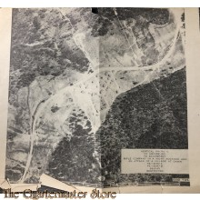 Map Infantry School Fort Benning Georgia 1943 Heineburg Photo C