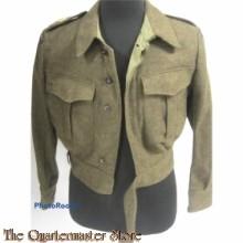 Battle Dress met broek Aan en Afvoer troepen AAT