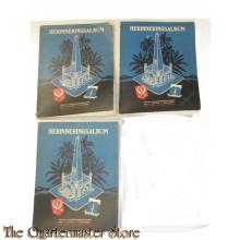 Delen 1,2 en 3 herinnerings albums 1e brigade C divisie