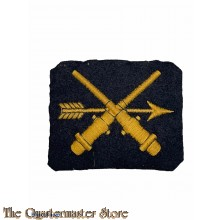 Marine dienstvak embleem vuurleiding Konstabel