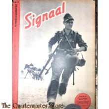 Zeitschrift Signaal H no 21, November 1942, 2 wekelijks geillustreerde (Signaal no 21 1942 dutch 2 weekly journal)
