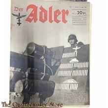 Zeitschrift Der Adler heft 5 , 9 Marz 1943 (Magazine Der Adler no 5 9 March1943)