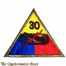 Mouwembleem 30e Armored Divison (Sleevebadge 30th  Armored Division)
