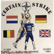 Keramische tegel 4 NL DIV Orange Operation Certain Strike