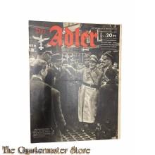 Zeitschrift Der Adler heft 24, 23 nov 1943  (Magazine Der Adler no 24, 23 nov 1943)