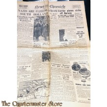 Newspaper, News Chronicle no 30.722 Tuesday oct 31, 1945