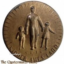 WHW Spende abzeichen Kinder aufs Land 1934 (Tinnie Kinder aufs Land 1934)