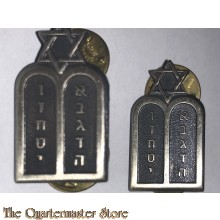 US Army *Jewish Chaplain* Officer's Collar Insignia - Rabbi