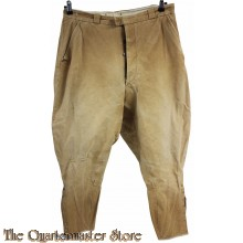 French WW2 summer cotton breeches