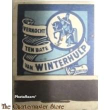 Belgium - Winterhulp lucifers Lennick XV (Matches Winterhelp Belgium Lennick XV)
