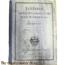 Book - Leitfaden für den Dienstunterricht in der Reichs Marine 1934