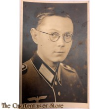 Studio portret WH soldier with glasses