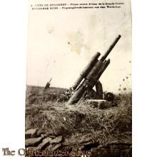 Military postcard Cote de Spicheren/Spicherer Höhe
