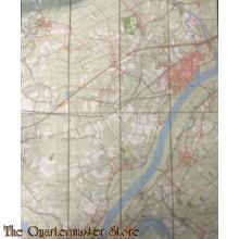 Topografische Landkaart Tiel no 39 D