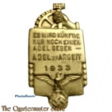 Spende abzeichen NSBO 1933 (Tinnie NSBO 1933)