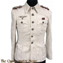 WH Drillig Sommerjacke Artillerie Offizier (HBT Officers Summer tunic Artillerie)