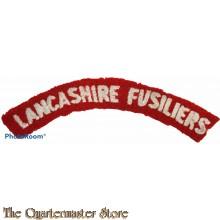 Shoulder flash Lancashire Fusiliers