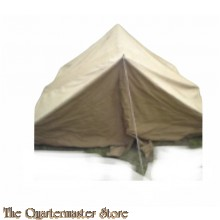 British 1945 dated 2 mans tent tan coloured