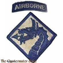 Shoulder flash U.S. Army 18th Airborne Corps (Sky Dragons)