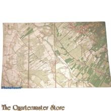 Topografische Landkaart Werkhoven 1906