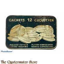 French/Belgium -  Tin for Kalmine pills 1930s