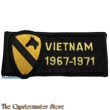 Blazer badge Vietnam 1967-1971 US 1st Cavalry
