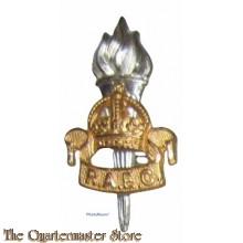 Cap badge RAEC educational Corps