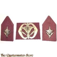 Baret embleem en kraag Korps Militaire Administratie