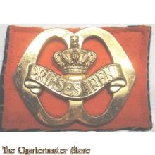Baret embleem  Regiment Fusiliers Prinses Irene