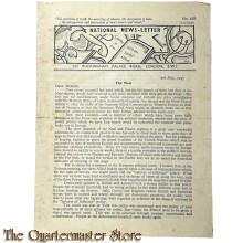 Newspaper ; National News-Letter no 460, 3rd may 1945