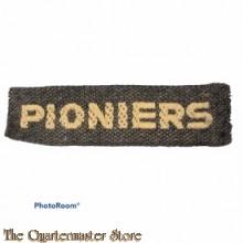 Straatnaam Pioniers