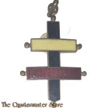 Medaille / Hanger Cross Lorraine