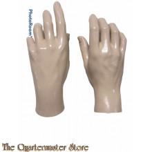 Nieuwe set mannenhanden