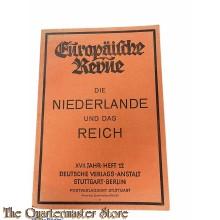 Brochure ; Die Niederlande und das Reich. (= Europäische Revue, XVII. Jahr, Heft 12)