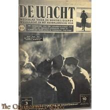 """Legerperiodiek en soldatenkrant """"de Wacht"""" no 23"""