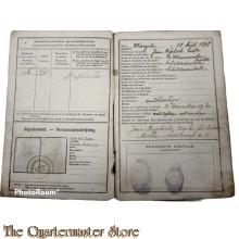 Belgium - Militair Mobilisatie zakboekje 1918/1919