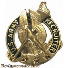 Badge US Army Recruiter Identification (Gold)