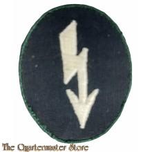 Tätigkeitsabzeichen für Funker der Infanterie (Heer Army Signals operator with infantry unit trade patch)