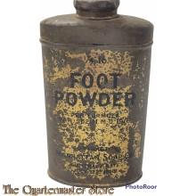 Tin Footpowder US Army 1918