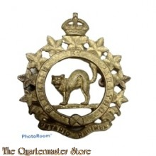 Cap badge The Ontario Regiment (RCAC), 1st Canadian Corps
