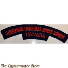 Shoulder flash Governor Generals Horse Guards Canada,  5th Canadian Armoured Division