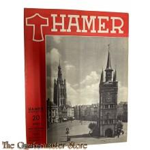 Maandblad de Hamer 4e jrg  no 11,  augustus  1944