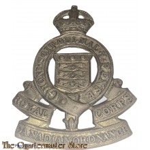 Cap badge Royal Canadian Army Medical Corps (R.C.A.M.C.)