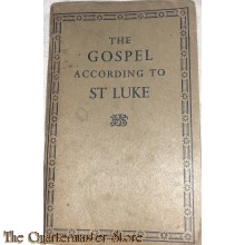 Booklet the gospel according to St. Luke 1939